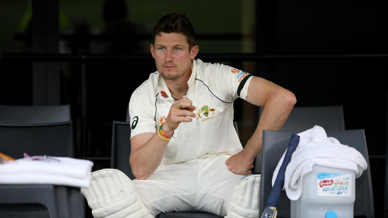 Cameron Bancroft doesn't believe he will win his spot back at the Gabba. Picture: AAP