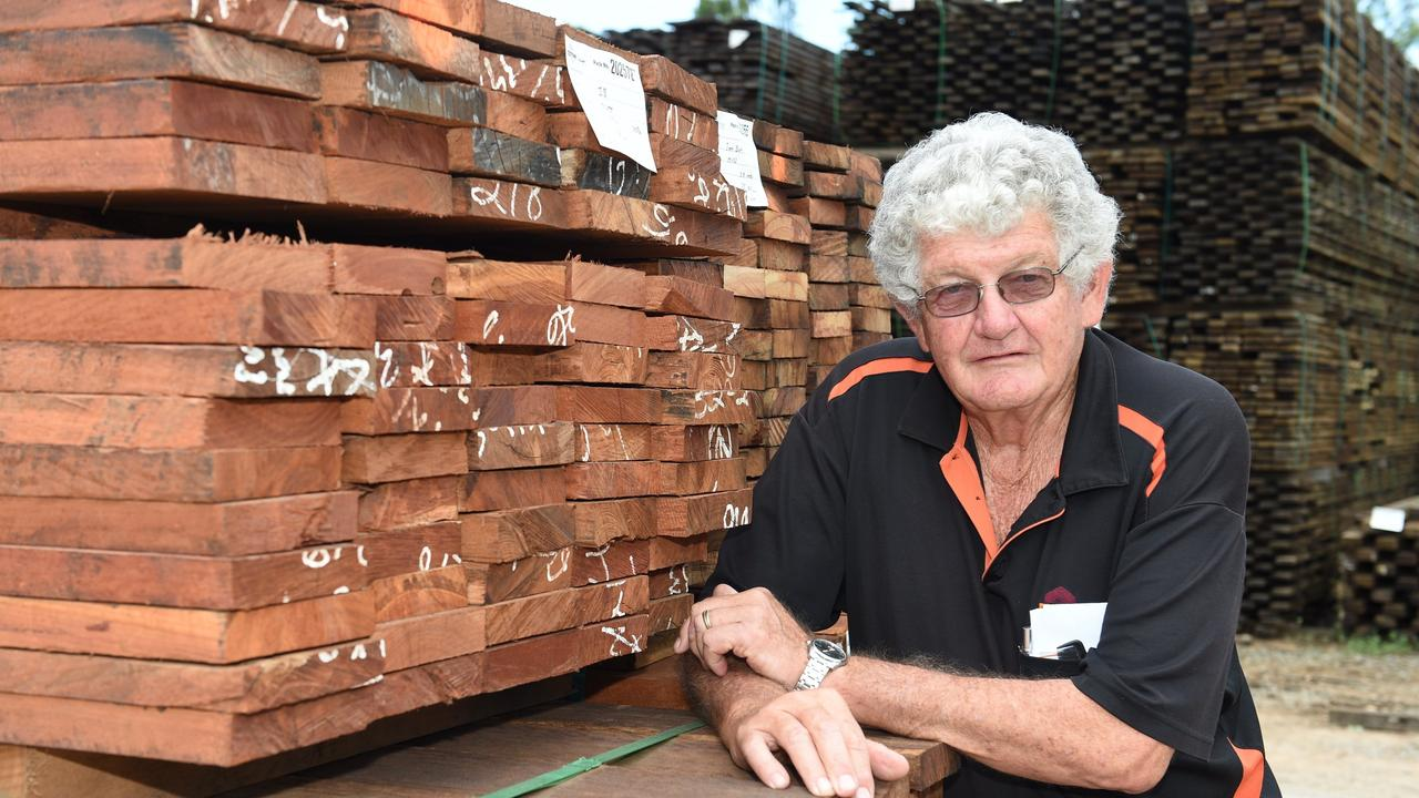 Curly Tatnell, owner and general manager of DTM timber.