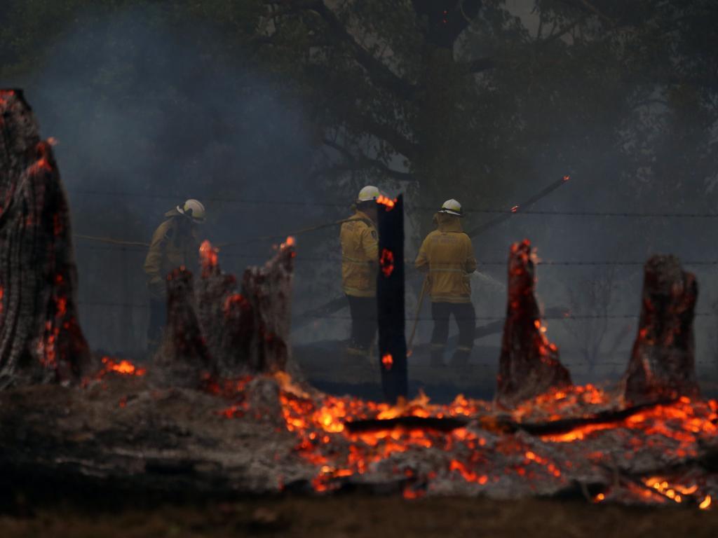 RFS volunteers hard at work in Killabakh. Picture: Gary Ramage