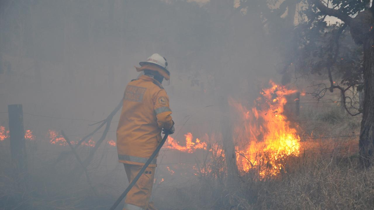 WEATHER WARNING: The Bureau of Meteorology have released a fire weather warning for the Wide Bay Burnett region. Photo: Clive Lowe/South Burnett Times 24/09/2011