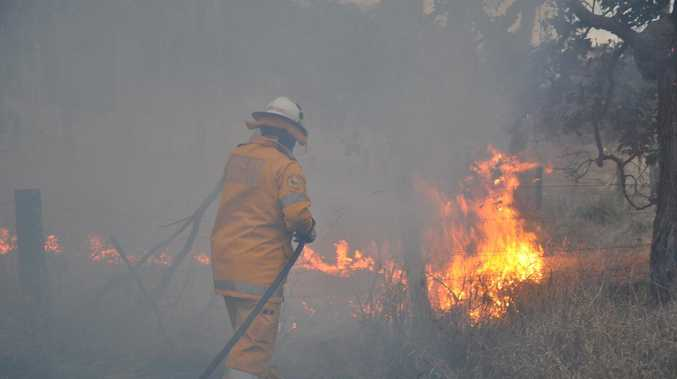 Fireys brace for horrid combination of heat and wind