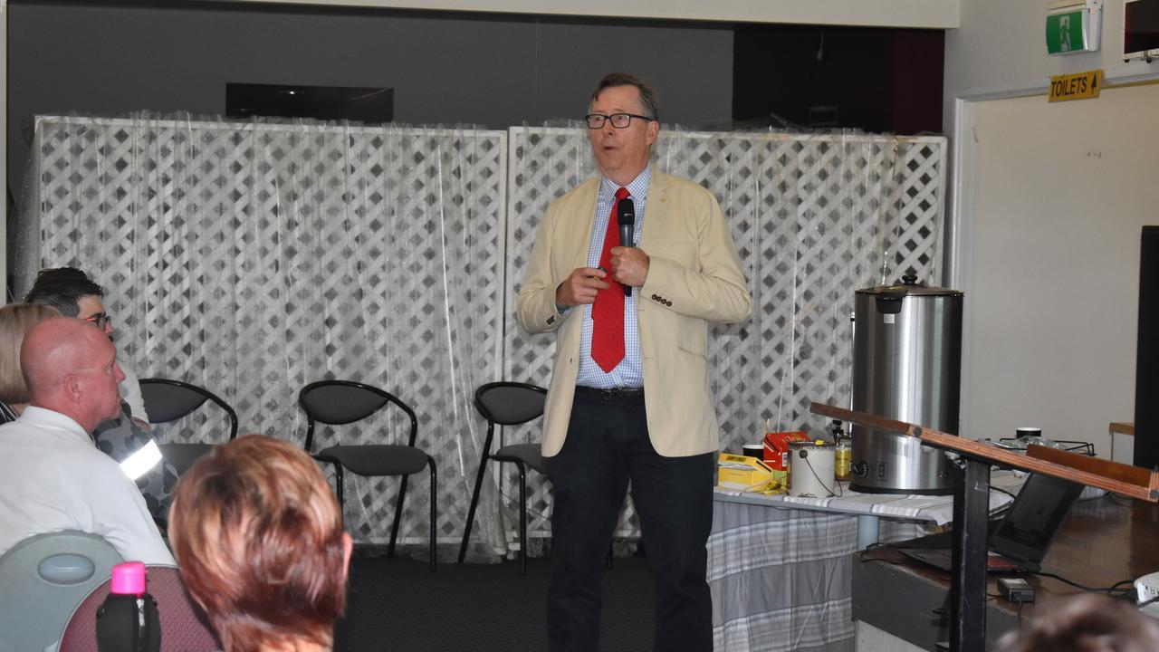 University of Southern Queensland (USQ) Professor OAM John Cole.