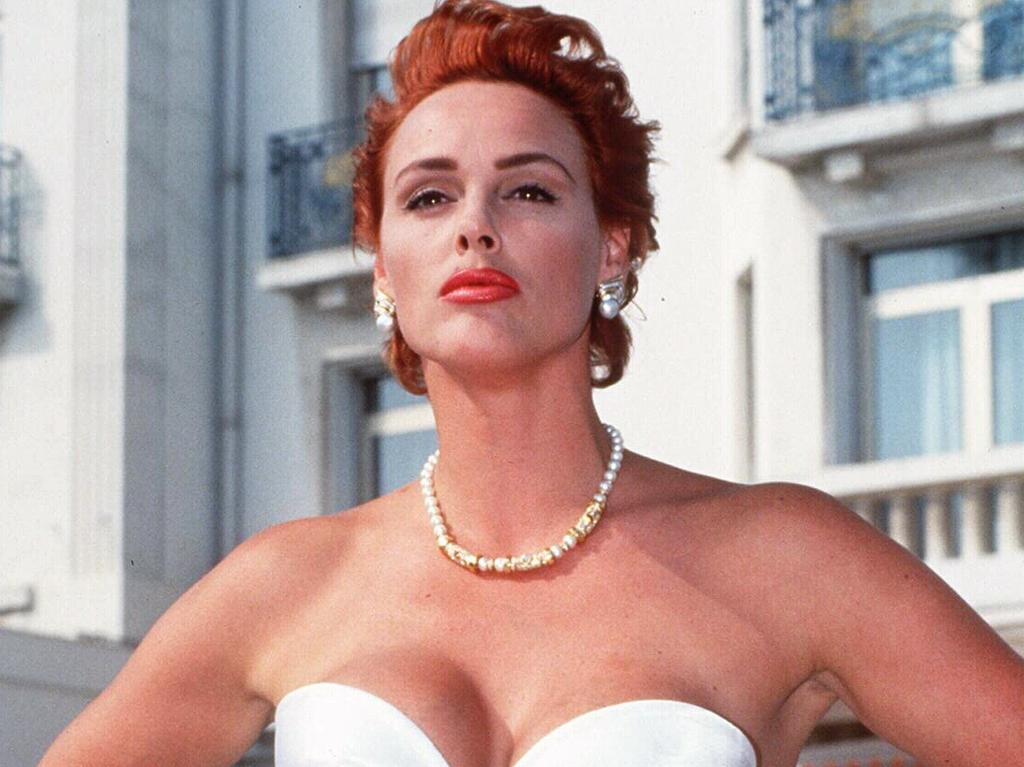 Brigitte Nielsen at the 1992 Cannes Film Festival.