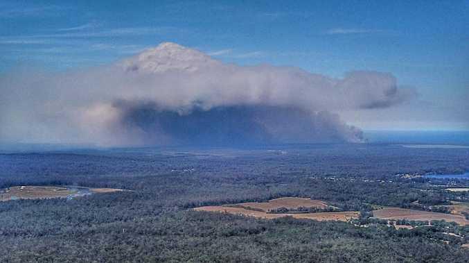 New fire burns on Noosa North Shore