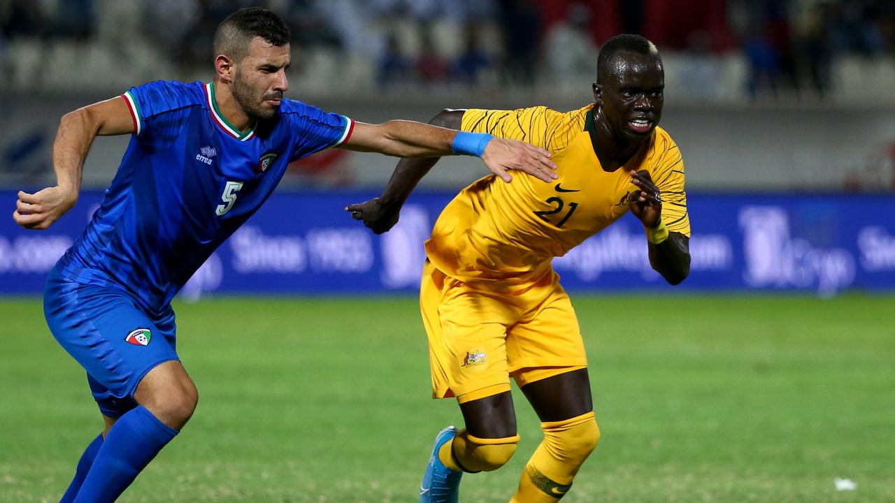 Awer Mabil's club role is replicated within the Socceroos, so he can hit the ground running.