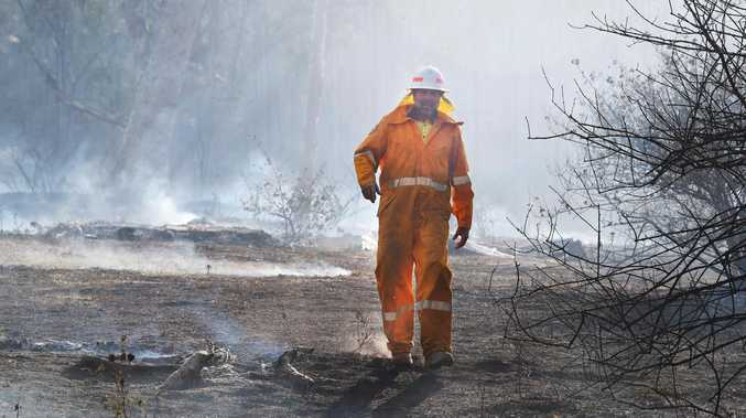 'NATURE AT ITS WORST': Spicers Lodge staff flee fire