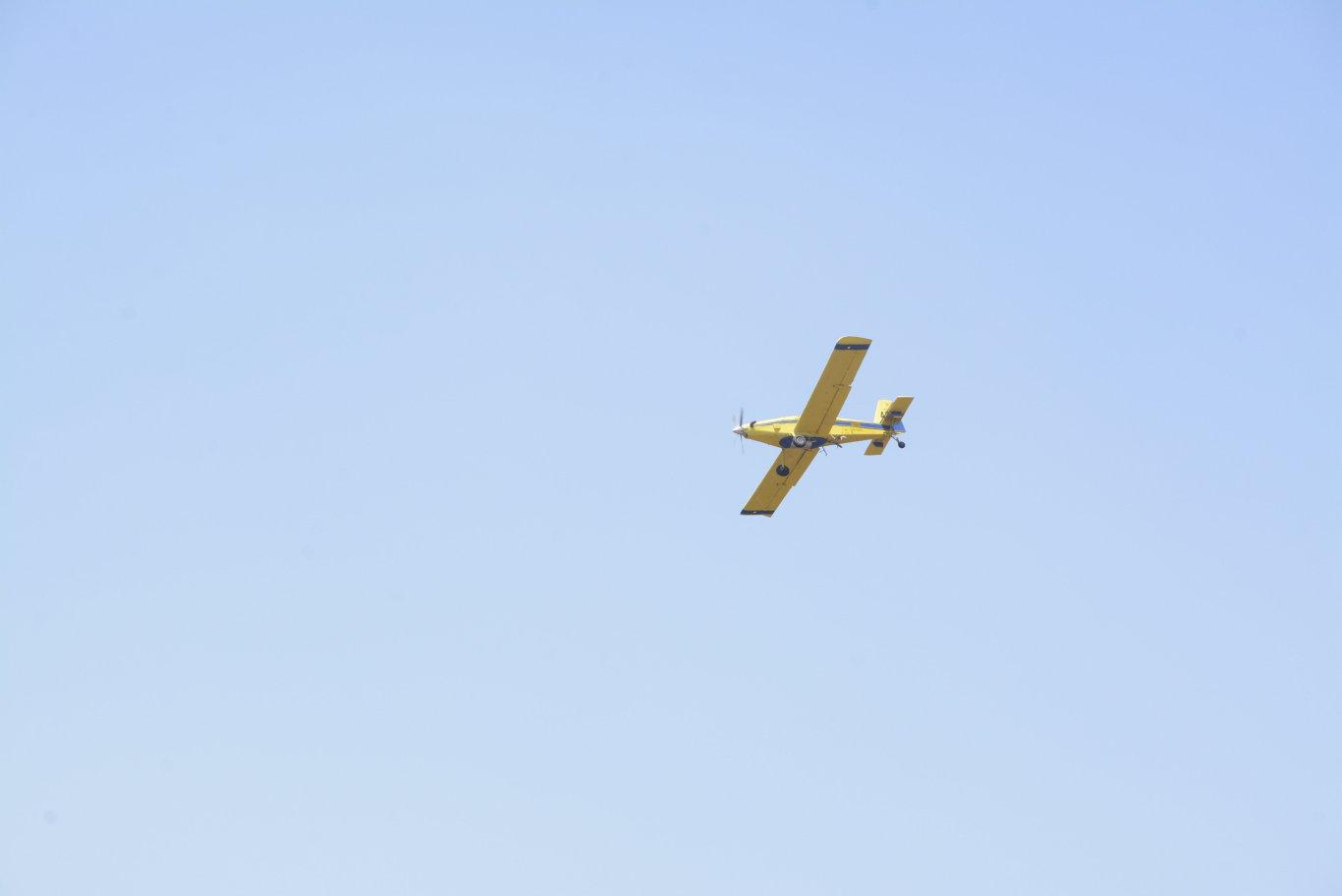 Waterbombers were called to douse the Pechey bushfire, north of Toowoomba, November 14.