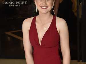 Hannah Aplin. Toowoomba State High School formal at
