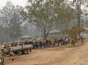 Nymboida residents ready to begin the fight back from fire