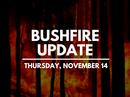 Find out the latest bushfire information in the Clarence Valley for Thursday, November 14 right here in one place.
