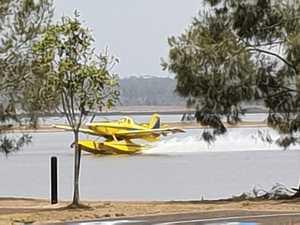 Water bombers close Fraser Coast dam