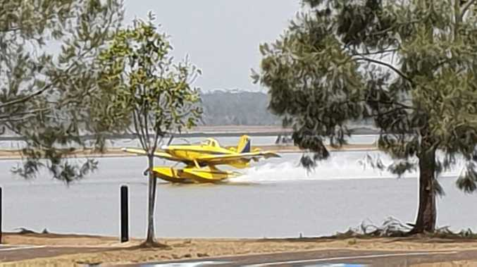 Water bombers close Fraser Coast dam