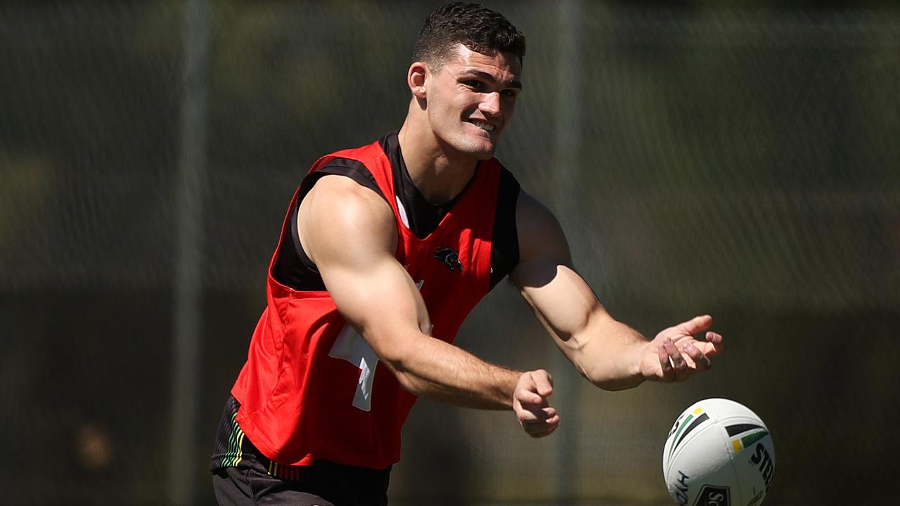 Nathan Cleary will need to step up as the chief playmaker in 2020.