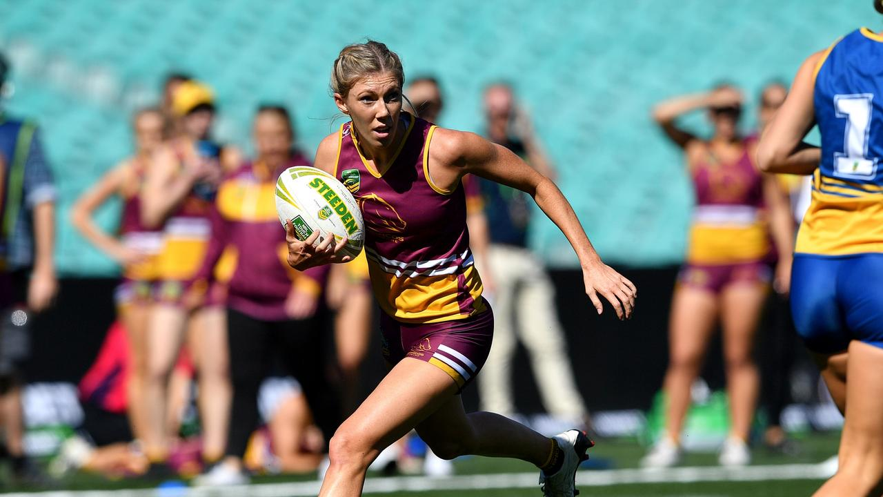 STAR PLAYER: Hayley Maddick. Picture: NRL.
