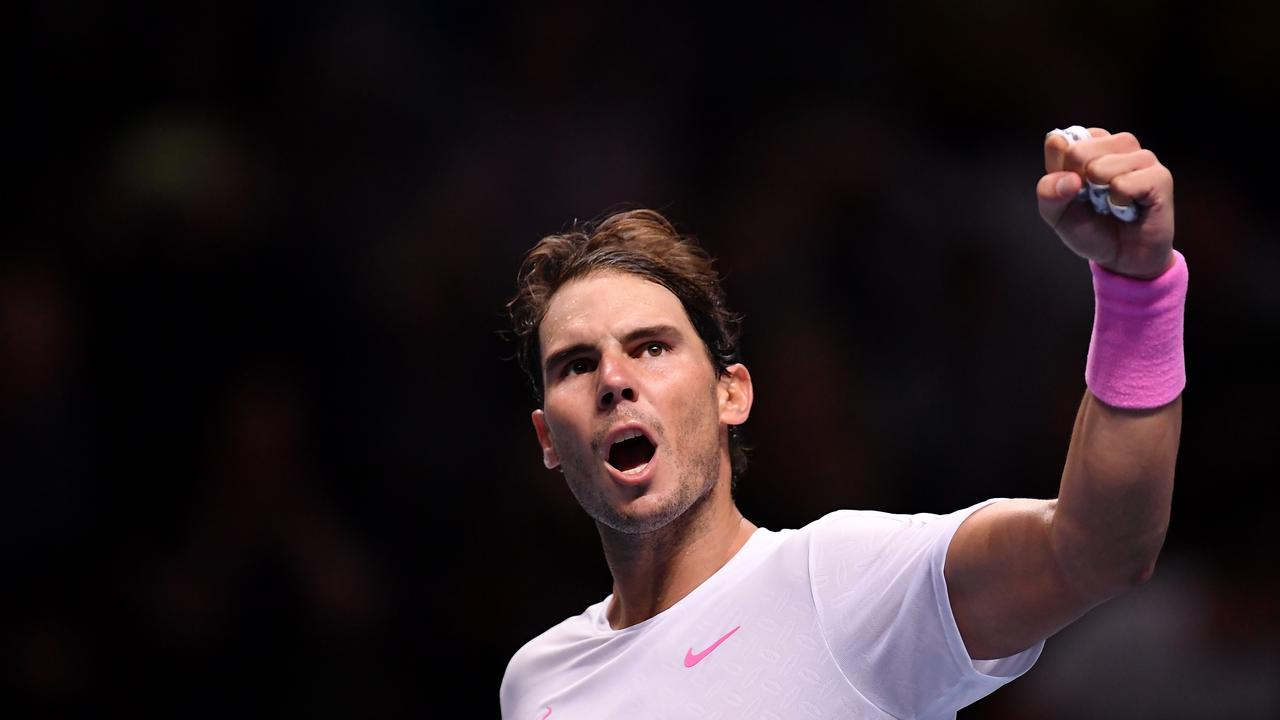 Nadal admitted the win was 1-in-1000. Picture: Getty