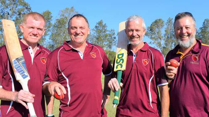 Meet the Gympie cricketers ready to fire in over 50s carnival