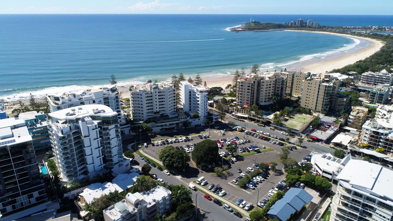 Brisbane Road Carpark redevelopment, Mooloolaba, Sunshine Coast. Photo: Patrick Woods