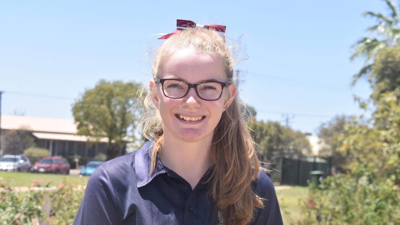 Meg O'Brien is graduating St Johns.