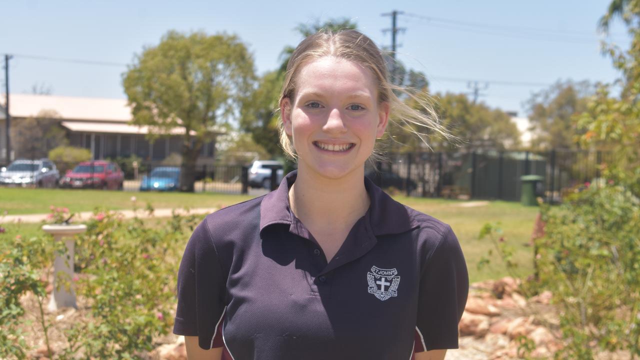 Bethanie Edwards is graduating St Johns.