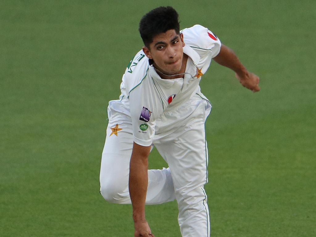 Pakistan pace ace Naseem Shah. Picture: AAP