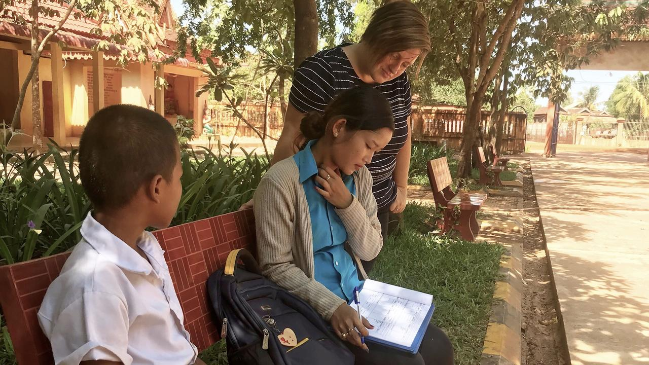 PREVENTION: Noosa's Nicky Mih works with Cambodian women to keep them from sex enslavement through her charity Free to Shine.