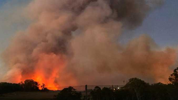 Authorities investigating cause of Pechey bushfire