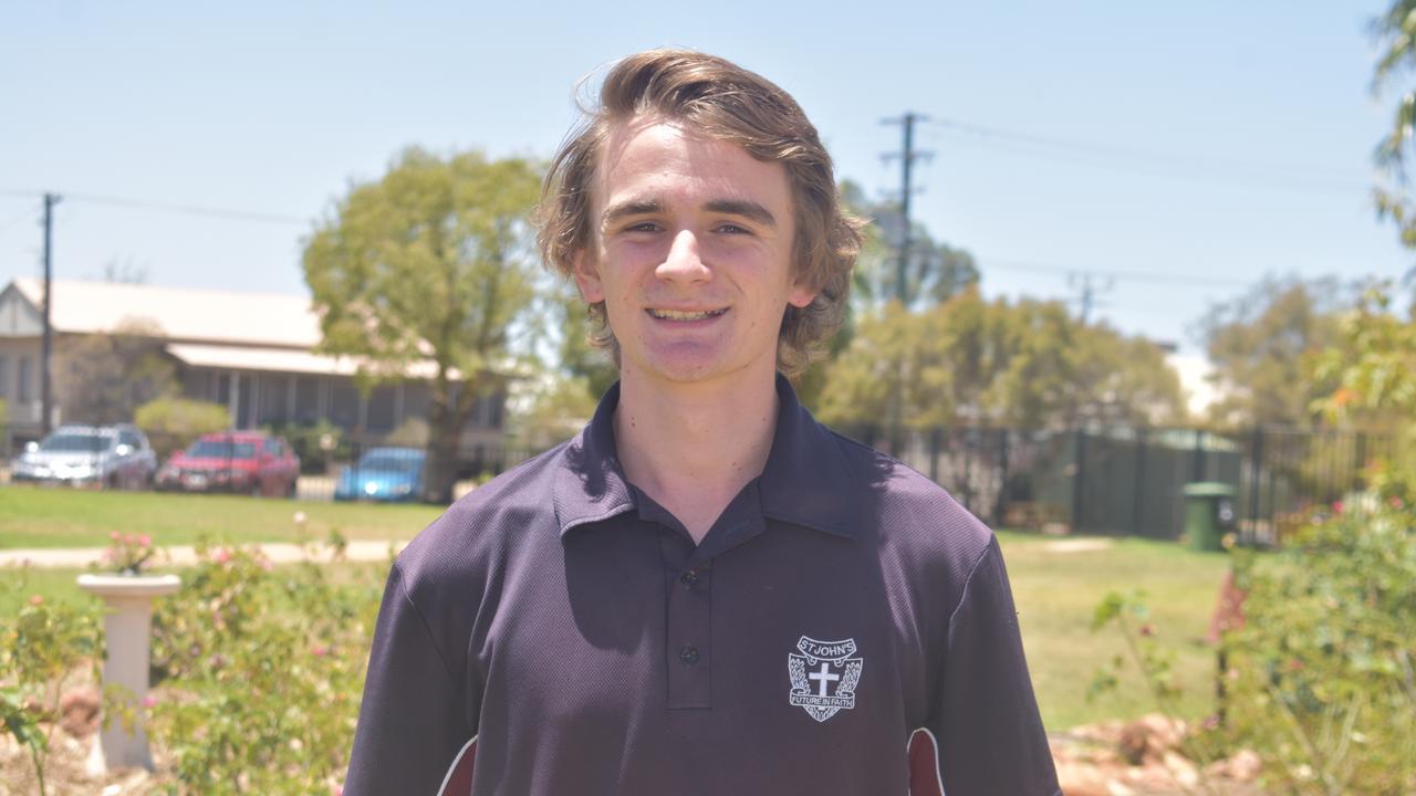 Martin Kenna is graduating St Johns.