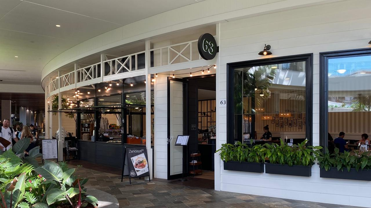 The franchisee of Cafe 63 Chermside is facing a lawsuit that was filed by Fair Work Ombudsman for paying a lower hourly wage than the Restaurant Industry Award. Pic: The Courier-Mail