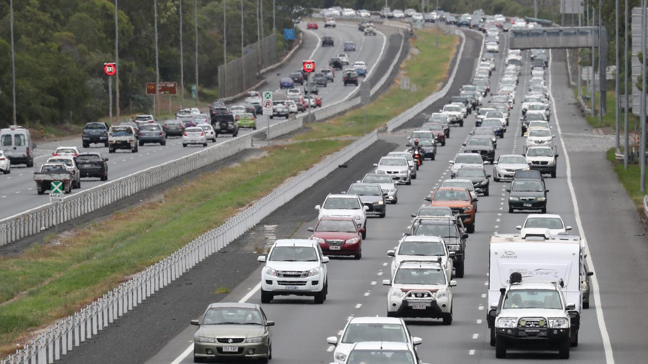 The State Government will widen an 11km stretch of the Bruce Highway from four to six lanes after the project was given the green light. Photo: Annette Dew