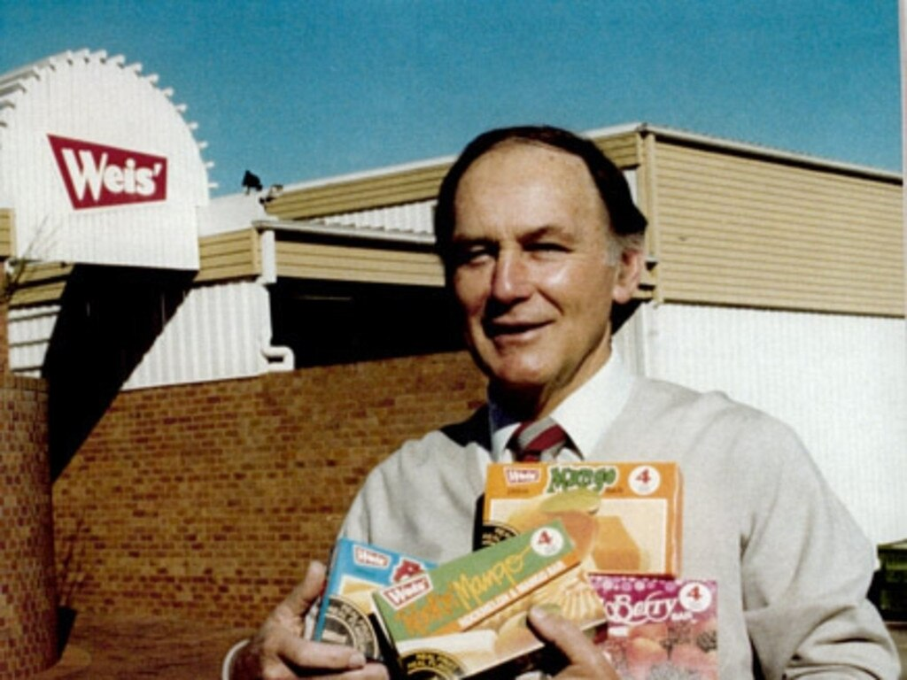 Les Weis at the factory in the early 1990s.