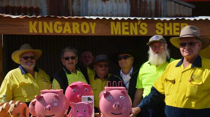Full steam ahead for Kingaroy Men's Shed