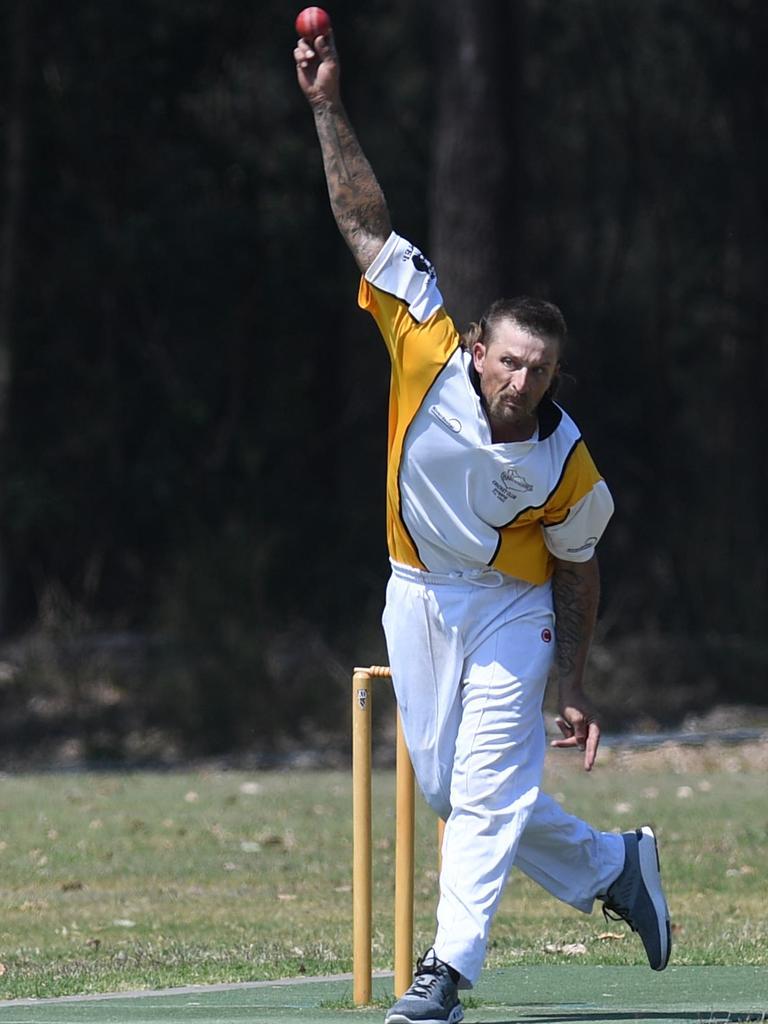Gympie Cricket Harlequin v Kenilworth - Kurt Beutel