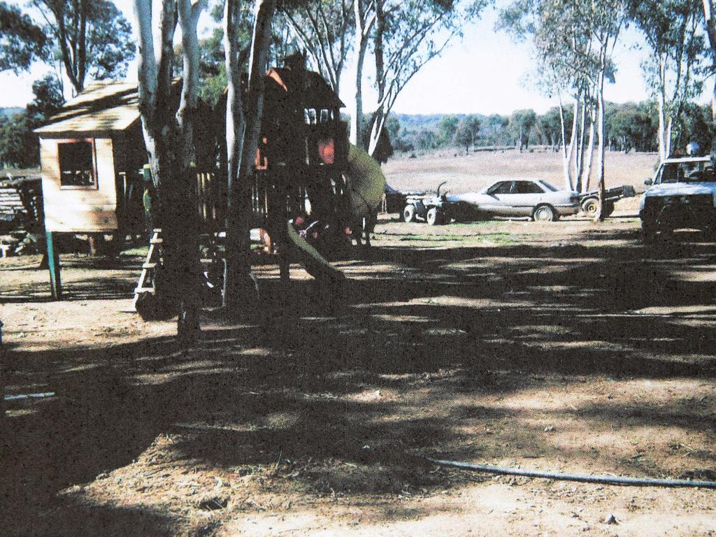 The squalid bush block where authorities broke up the Colt clan on the 'day of removal' in 2012.
