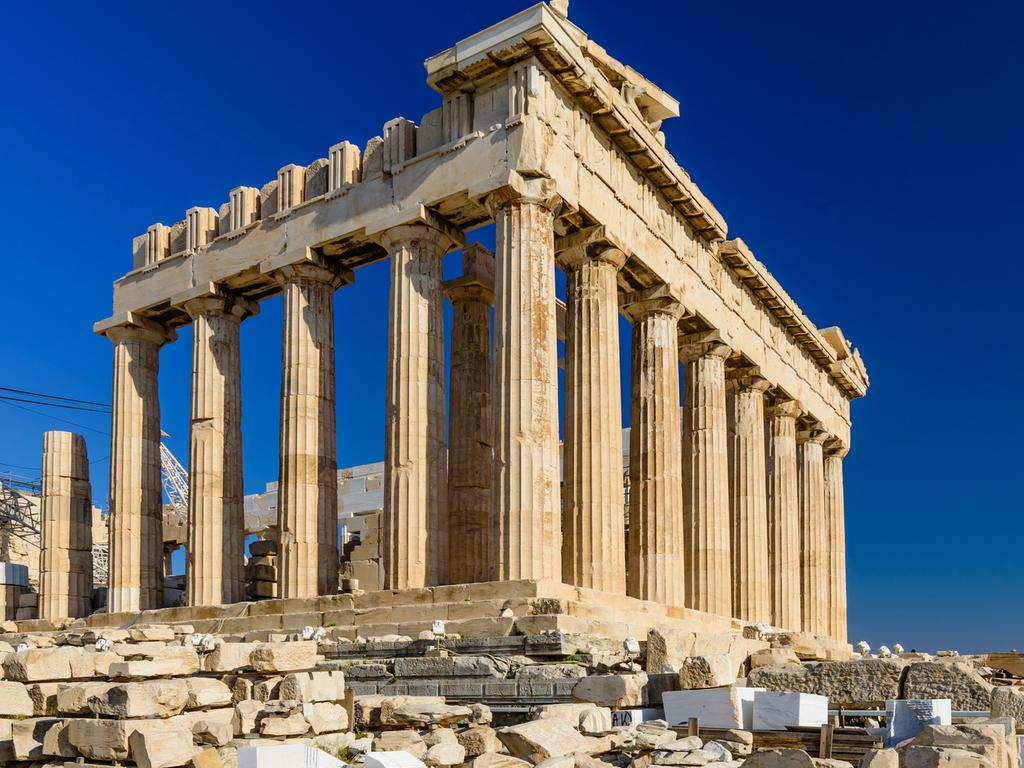 'Looks like a Shell garage on top of a hill': The Acropolis in Athens.