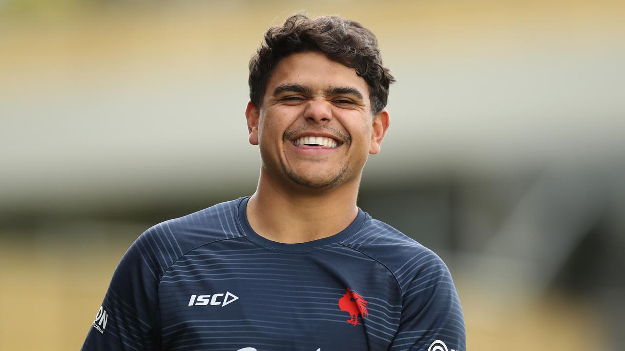 Latrell Mitchell will soon welcome Sydney visitors to Taree. Picture: Brett Costello