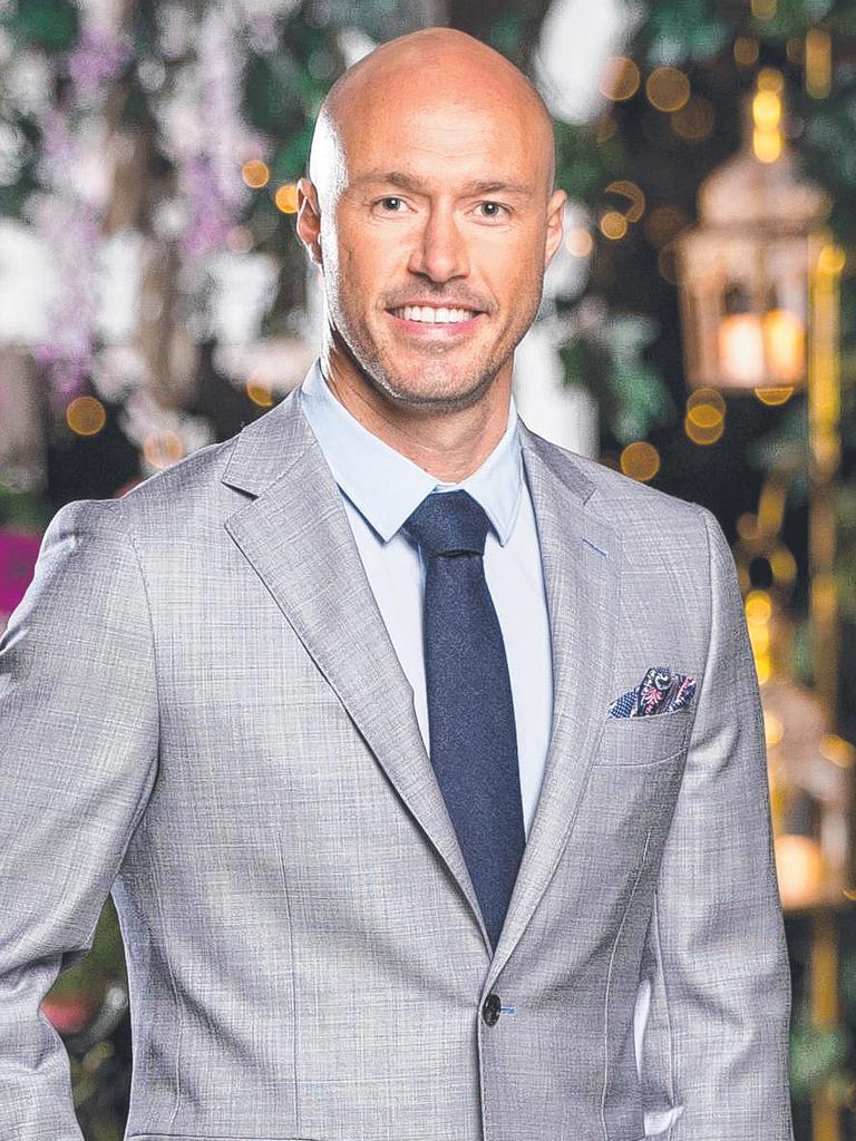 Ryan on The Bachelorette. Photo: Channel 10