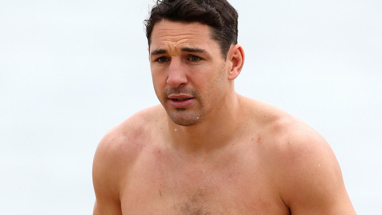 Billy Slater pulled off the take down.