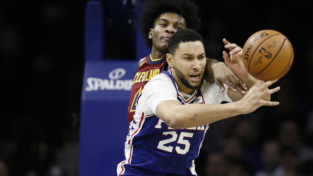 Ben Simmons couldn't inspire his team to victory.