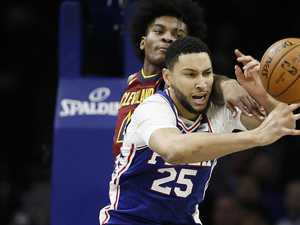 Simmons slammed in ugly Sixers loss