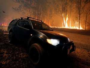 Man found dead in burnt out bushfire zone