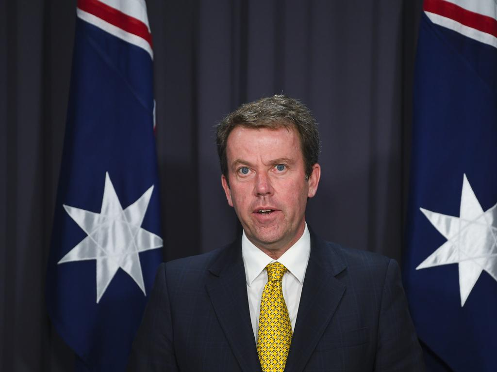 Australian Education Minister Dan Tehan said the guidelines were developed with universities to protect their autonomy. Picture: AAP