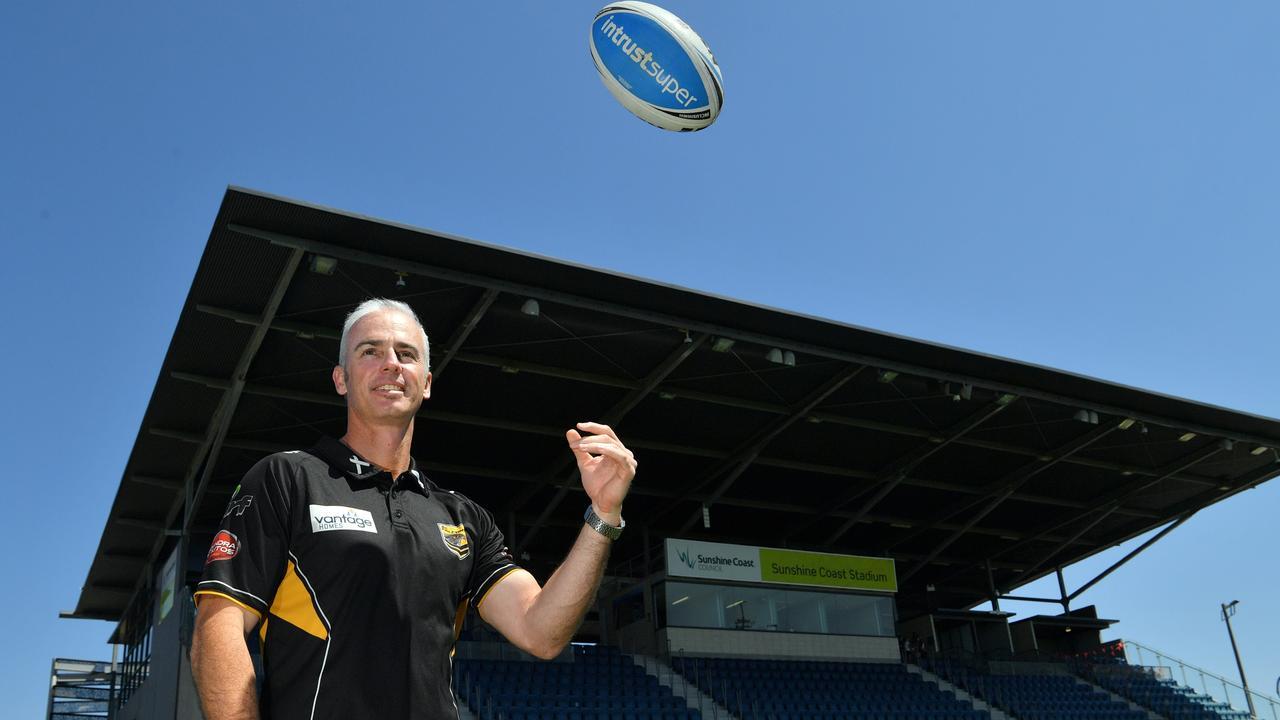 COACH: Sam Mawhinney is set to lead the Sunshine Coast Falcons in 2019. Photo: John McCutcheon/Sunshine Coast Daily