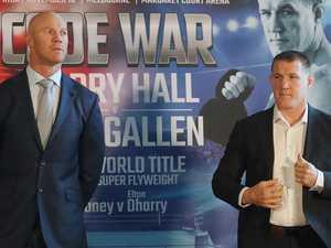 Gallen shortens as fighters weigh-in