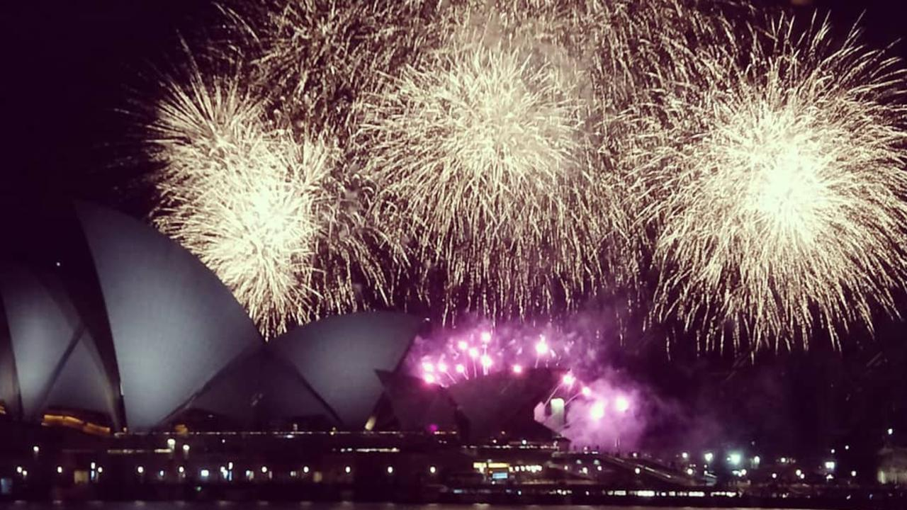 A 20-minute fireworks display on Sydney Harbour in the midst of a total fire ban has sparked a major backlash. Picture: Instagram