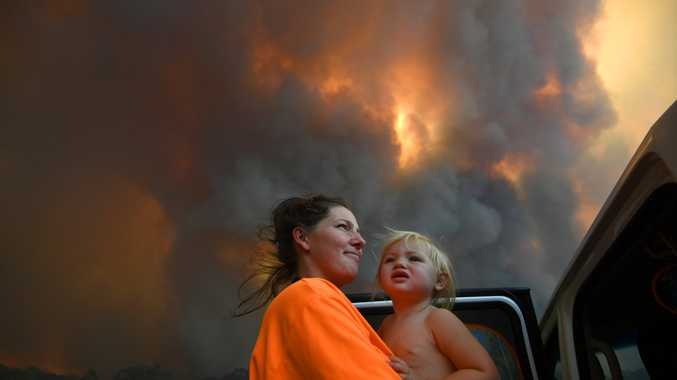 BUSHFIRE LATEST: Up to 25 homes in the region destroyed