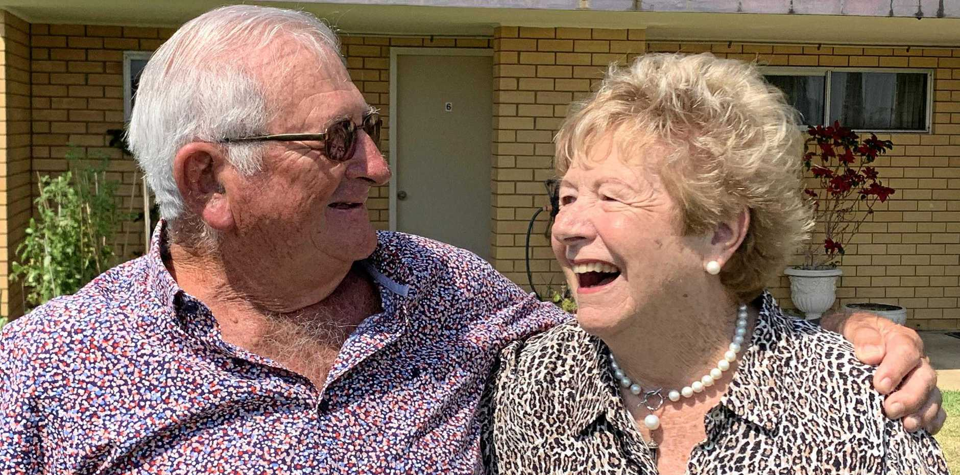 CELEBRATIONS: John and Sally Lowry are celebrating 60 years of marriage.