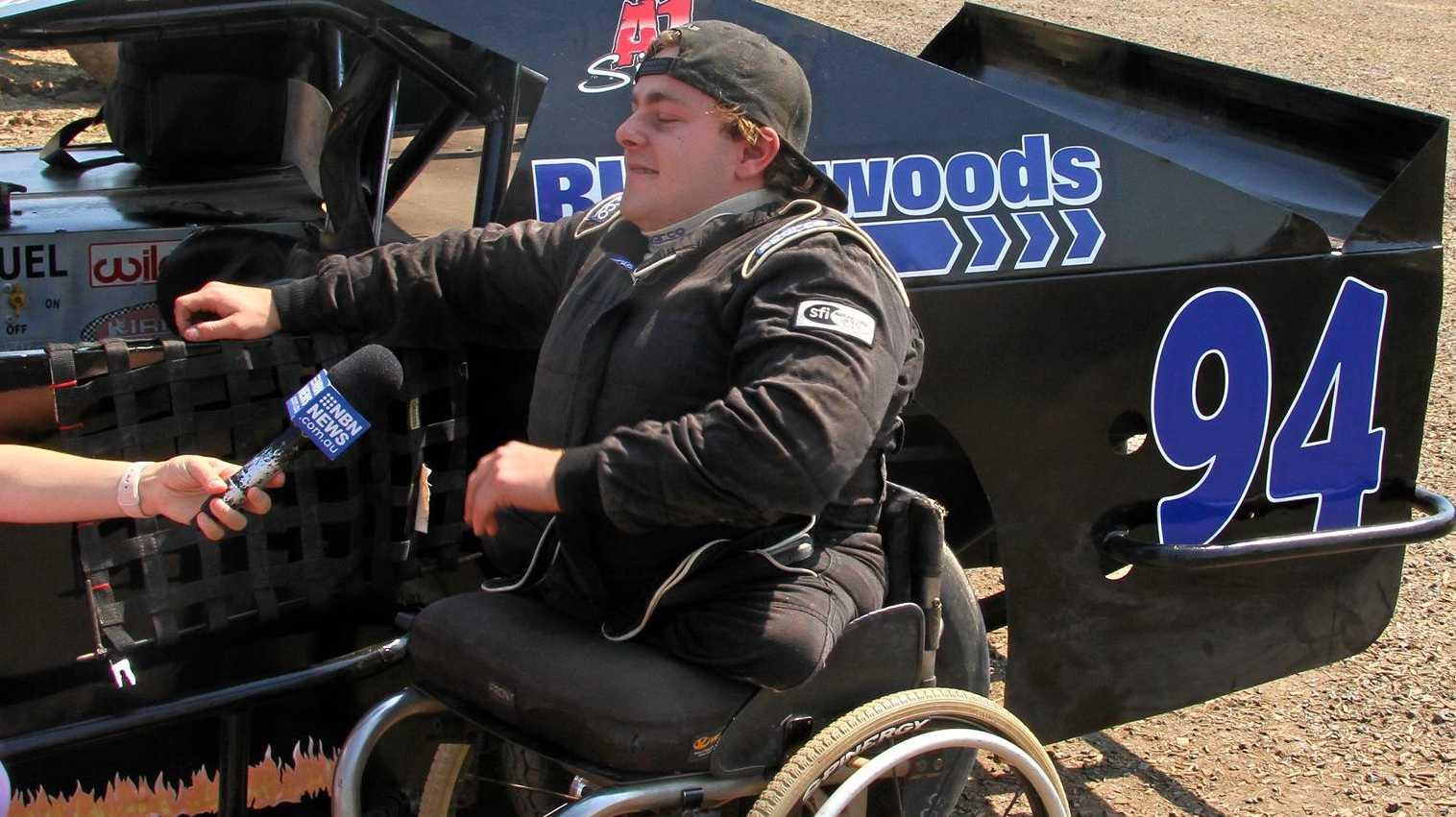 NEW CHALLENGE: Luke Watt, who will make his AMCA debut tomorrow night at Lismore Speedway.