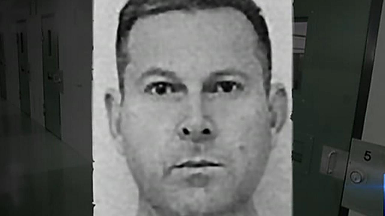 Gerard Baden-Clay's prison mugshot. Picture: 7 News