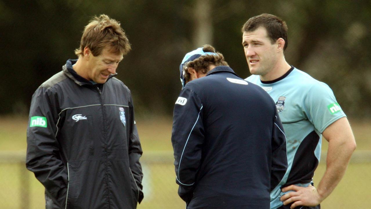 Craig Bellamy coached Paul Gallen at State of Origin level.