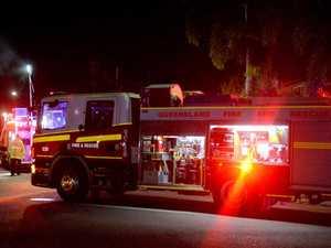 Residents flee as fire tears through Coast home